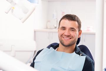 patient getting Sedation Dentistry